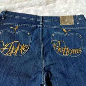 Apple Bottoms Jeans Boot Cut Women's sz 22